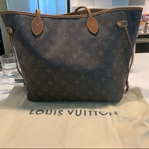 Louis Vuitton Neverfull Monogram (Without Pouch)